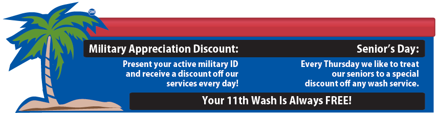 Vista Palms Car Wash Coupons and Specials